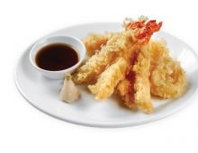 Prawns in breadcrumbs