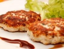 Chopped cutlet of poultry1