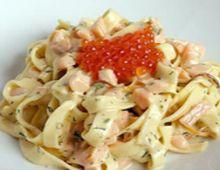 Fettuccini Salmon